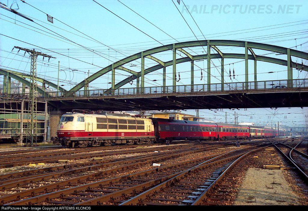 Photo 103 2036 Deutsche Bahn DB, BR 103