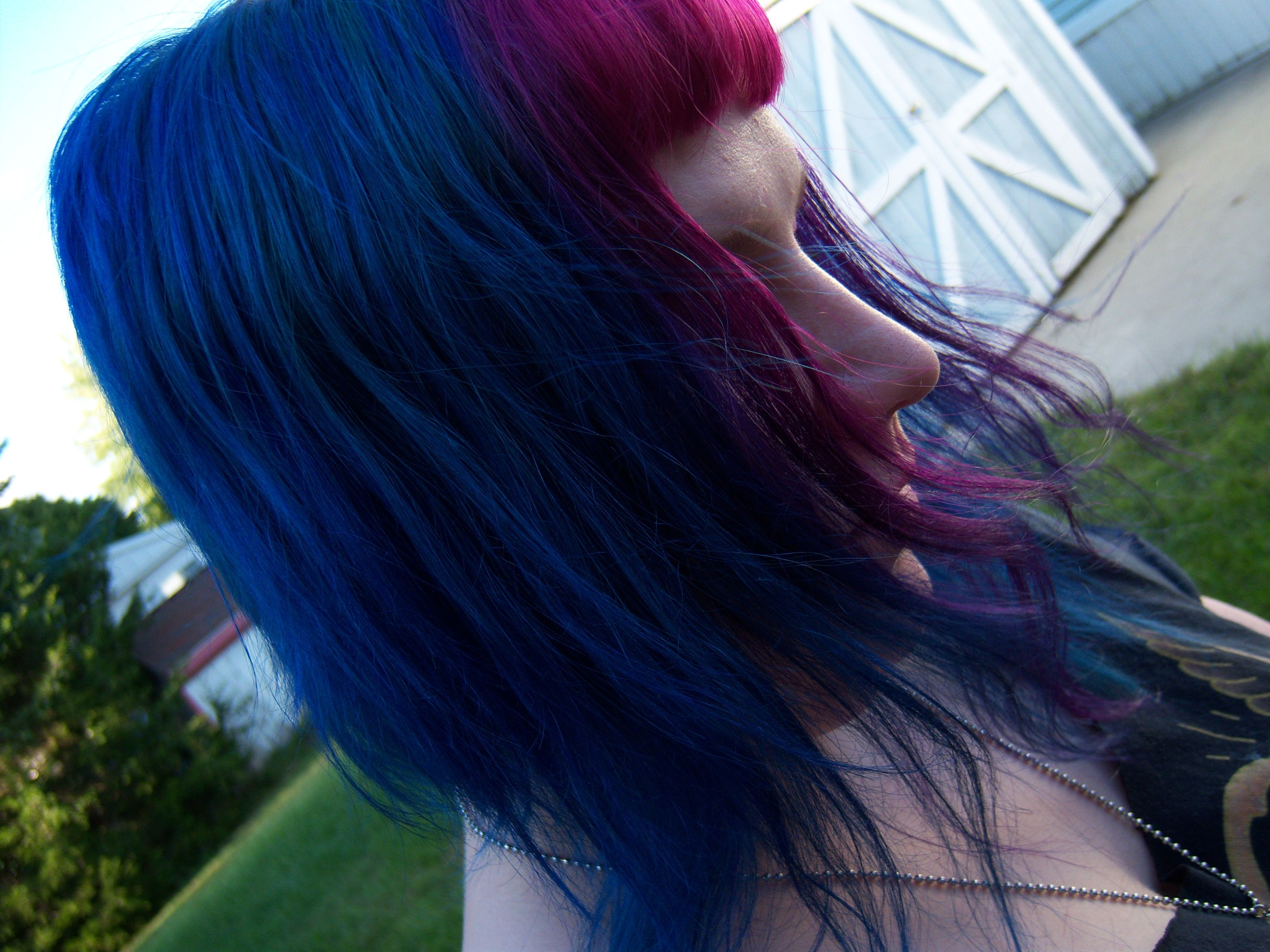 Special effects sfx hair dye electric blue u atomic pink