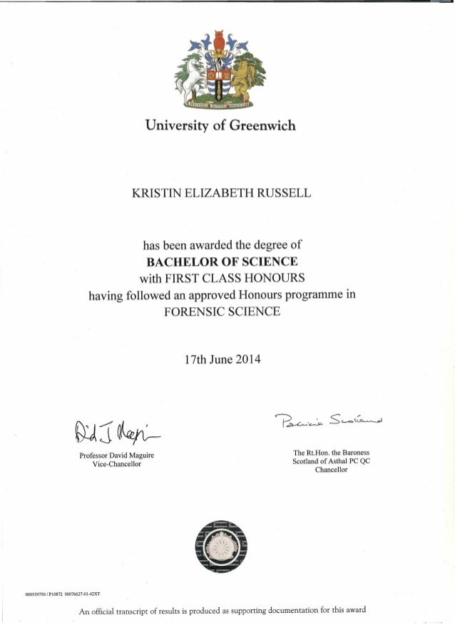 First Class Honours Unique Degree Certificate  News To Go 3  Pinterest  Degree Certificate .