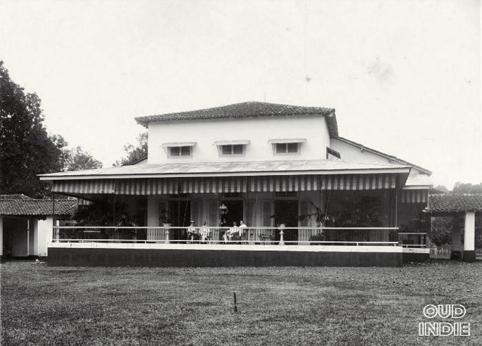Rumah Orang Eropa Di Indonesia Sekitar 1900 Arsitektur Indonesia Belanda