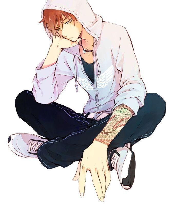 Hot Anime Boy Hoodie : anime, hoodie, Anime
