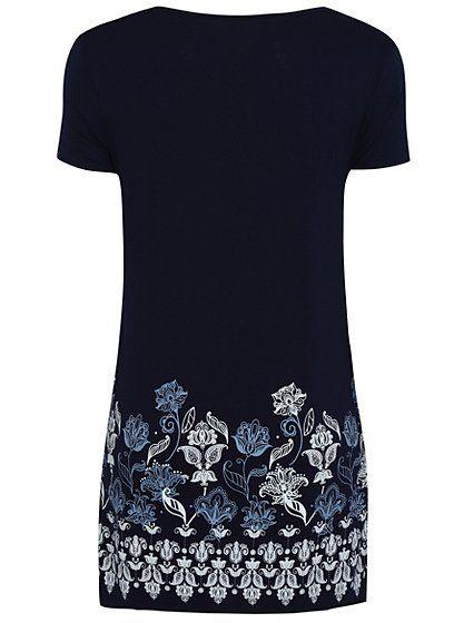 6aeabb04413 Floral Print Tunic