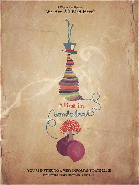Pin By Whıtney Nıcoןe Washington On Entertained Me Movie Posters Minimalist Alice In Wonderland Alice