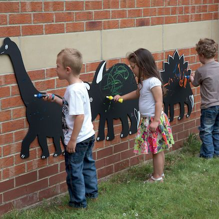 Dinosaur Chalkboards 3pk #dinosaur