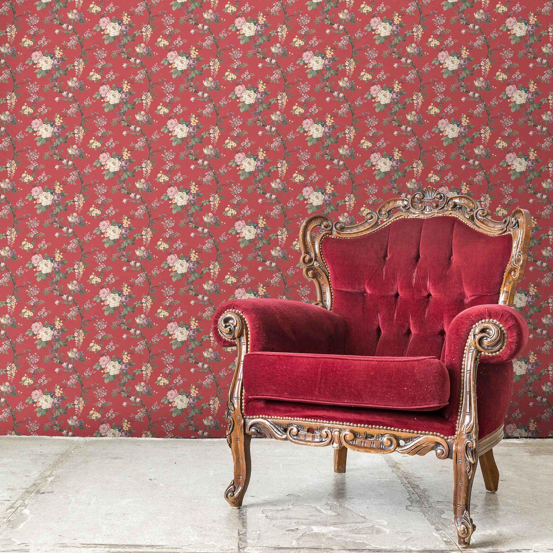 Superfresco Easy Majestic Wallpaper in Purple Lowe's