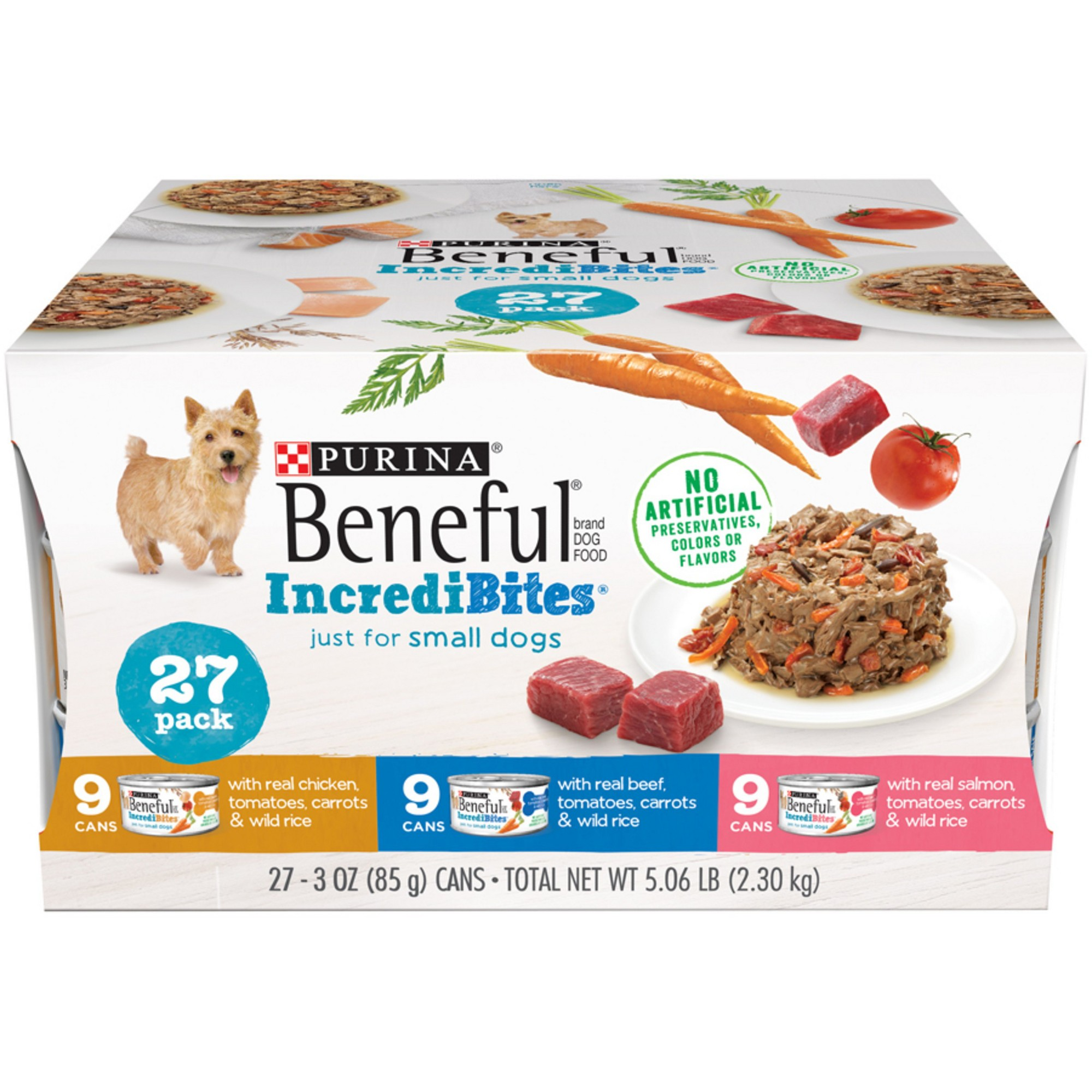 Beneful Incredibites Dry Dog Food Variety Pack 27ct Dog Food