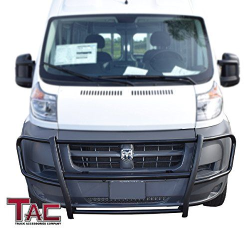 Ford Transit Outfitted With Aluminess Roof Rack Ladder And Front