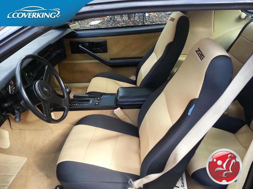 Coverking Neosupreme Custom Front & Rear Seat Covers for