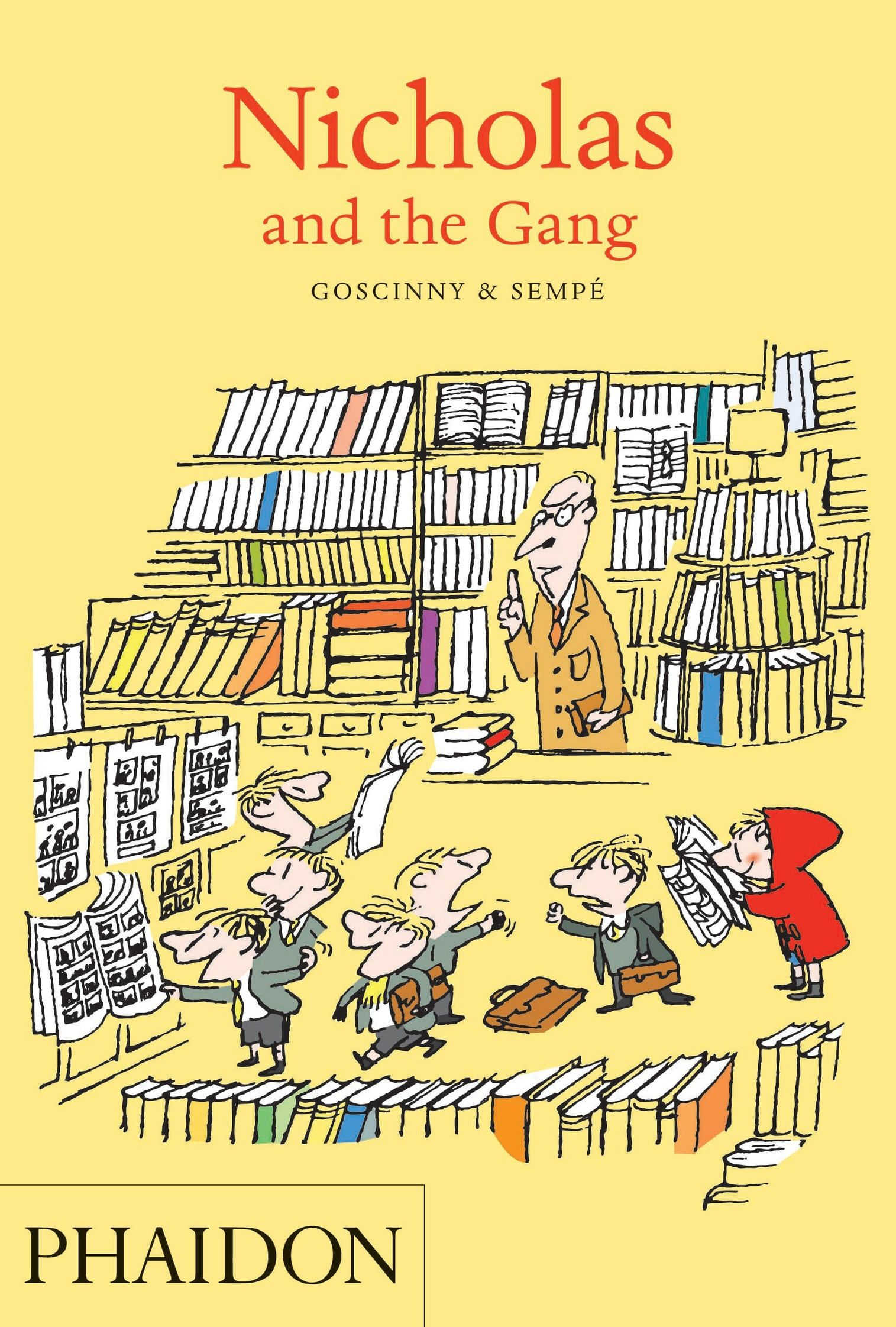 Nicholas and the Gang | 일러스트레이션, 배경화면