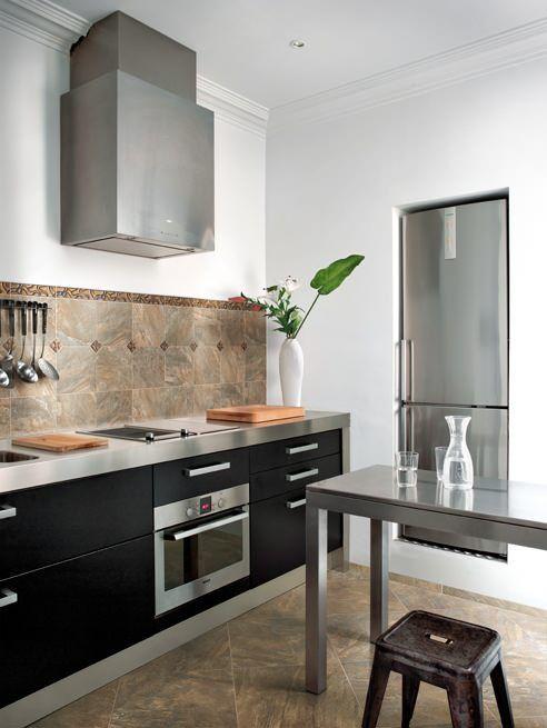 Cerdomus #Dome Brown 20x40 cm 57567 #Feinsteinzeug #Marmor - küche fliesen boden