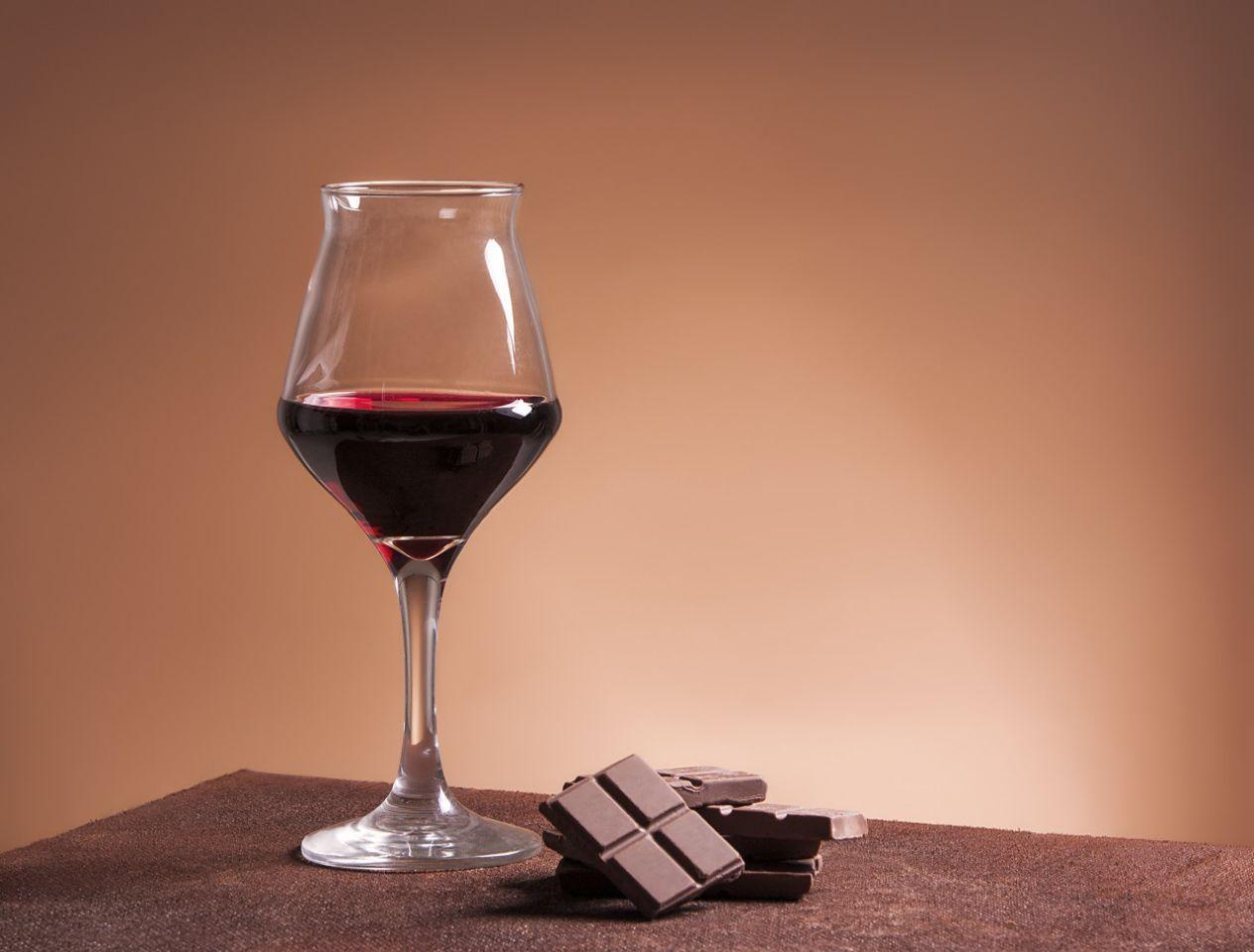 abnehmen mit schokolade und rotwein