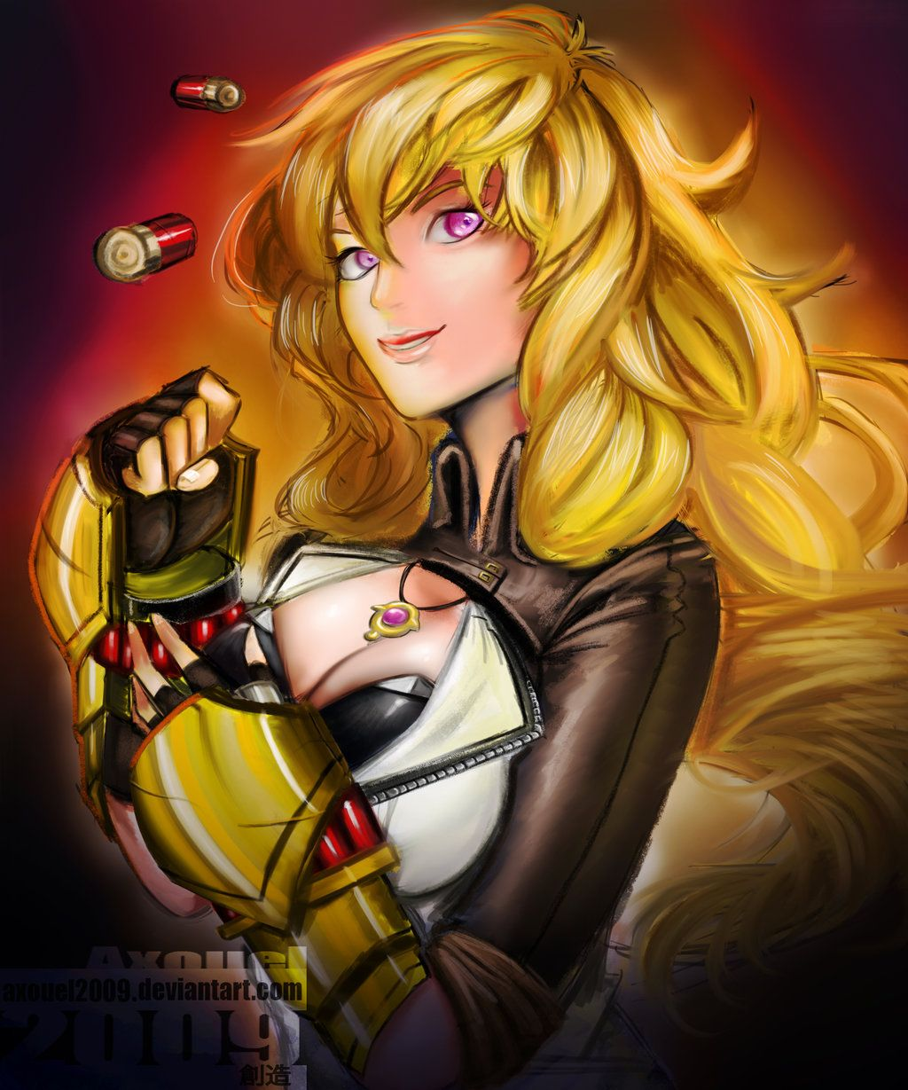 Yang Xiao Long Wallpaper: Stupidprivate: Yang Xiao Long Of Team RWBY By Rooster