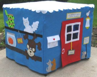 Kids Tablecloth Playhouse All Aboard Train Station Fits Your Card Table Custom Order Personalized : table tents for kids - memphite.com