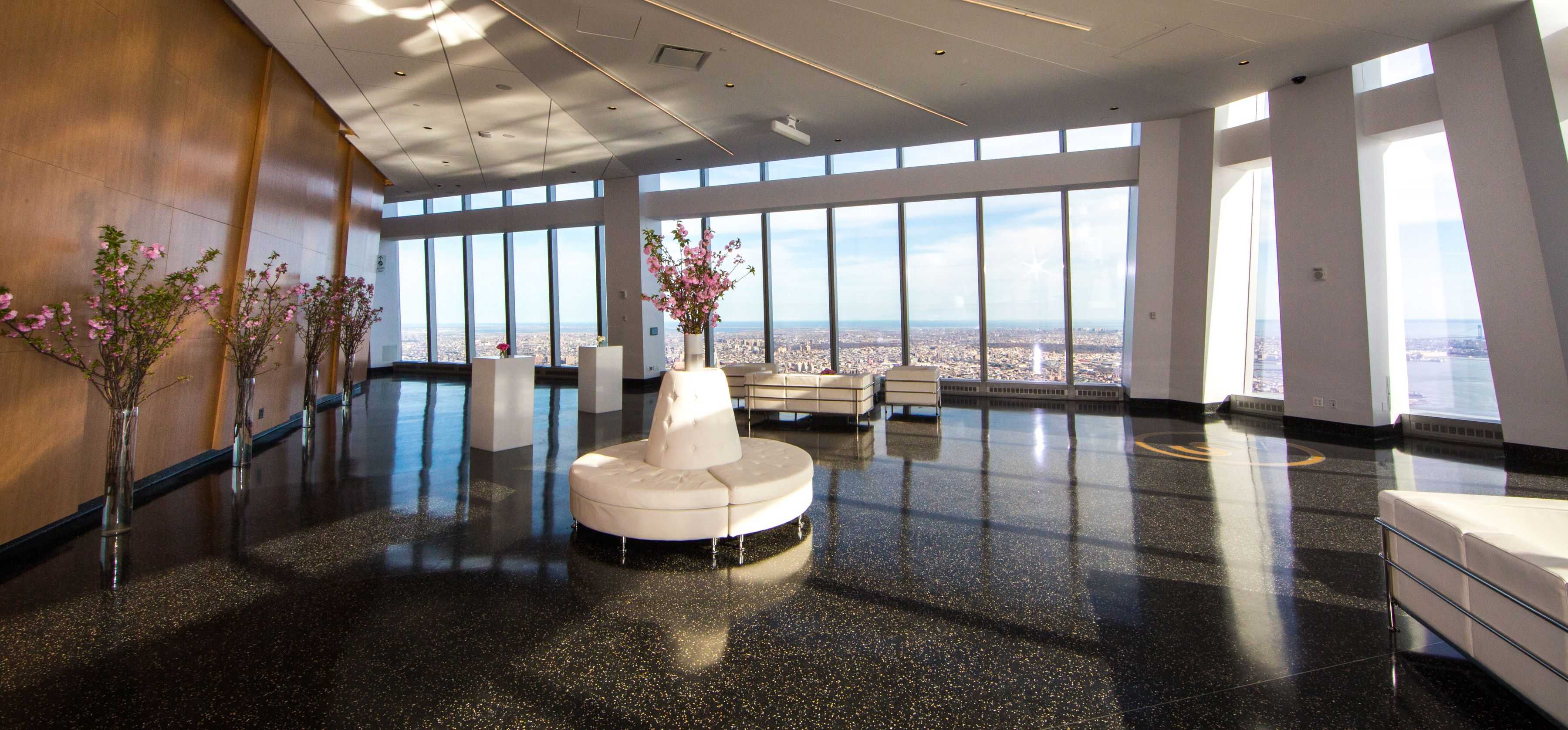 As The Towering Pinnacle Of Manhattan Skyline Aspire At One World Observatory Offers Preeminent Event Space Top Trade Center