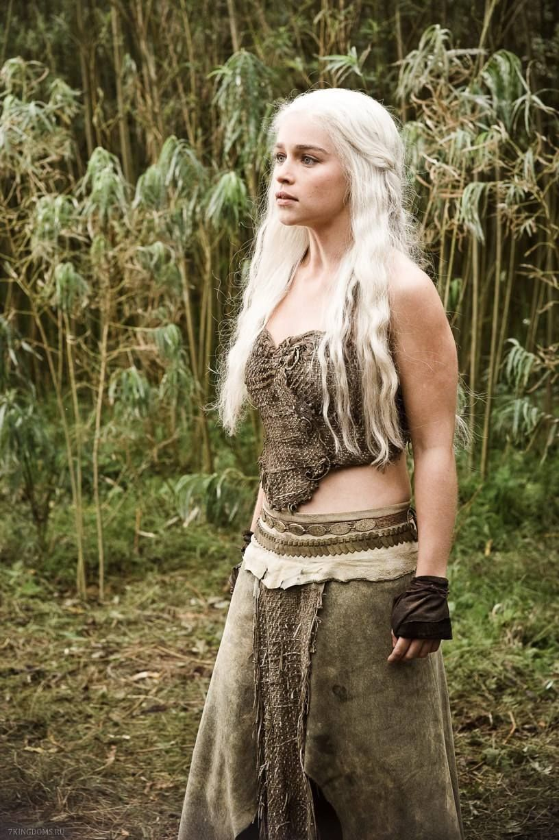 Daenerys' rags, season 1 Daenerys targaryen costume