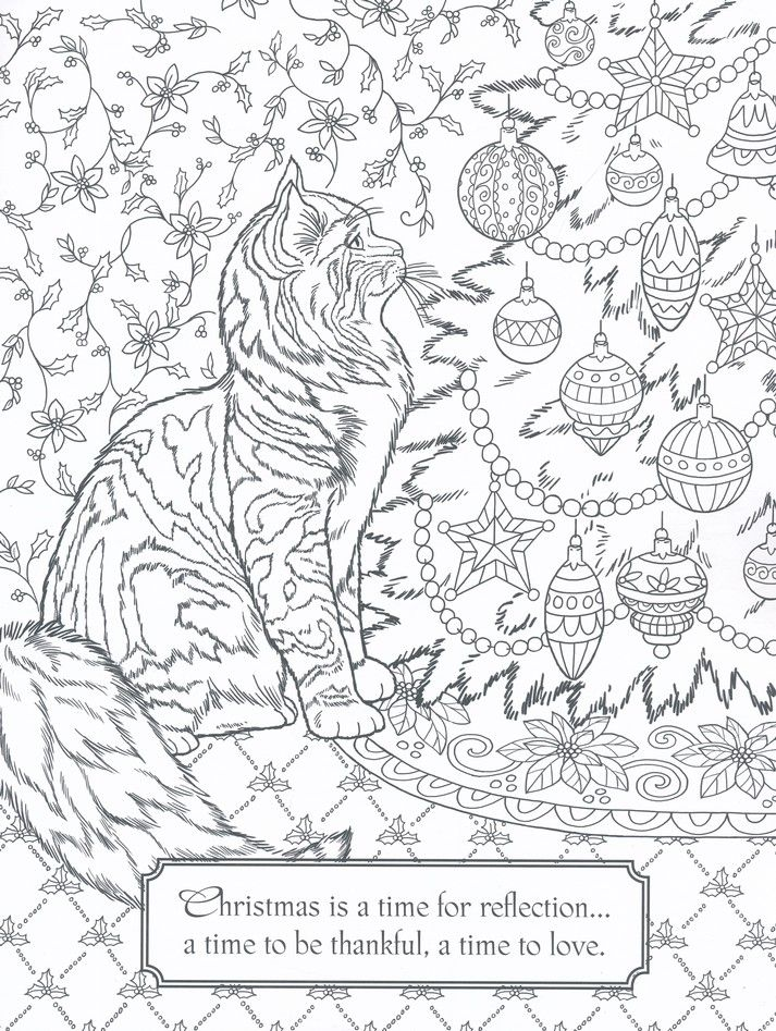 Christmas Coloring Art Book   Christmas coloring pages ...