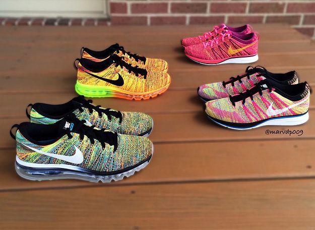 nike air max 2015 flyknit multicolor
