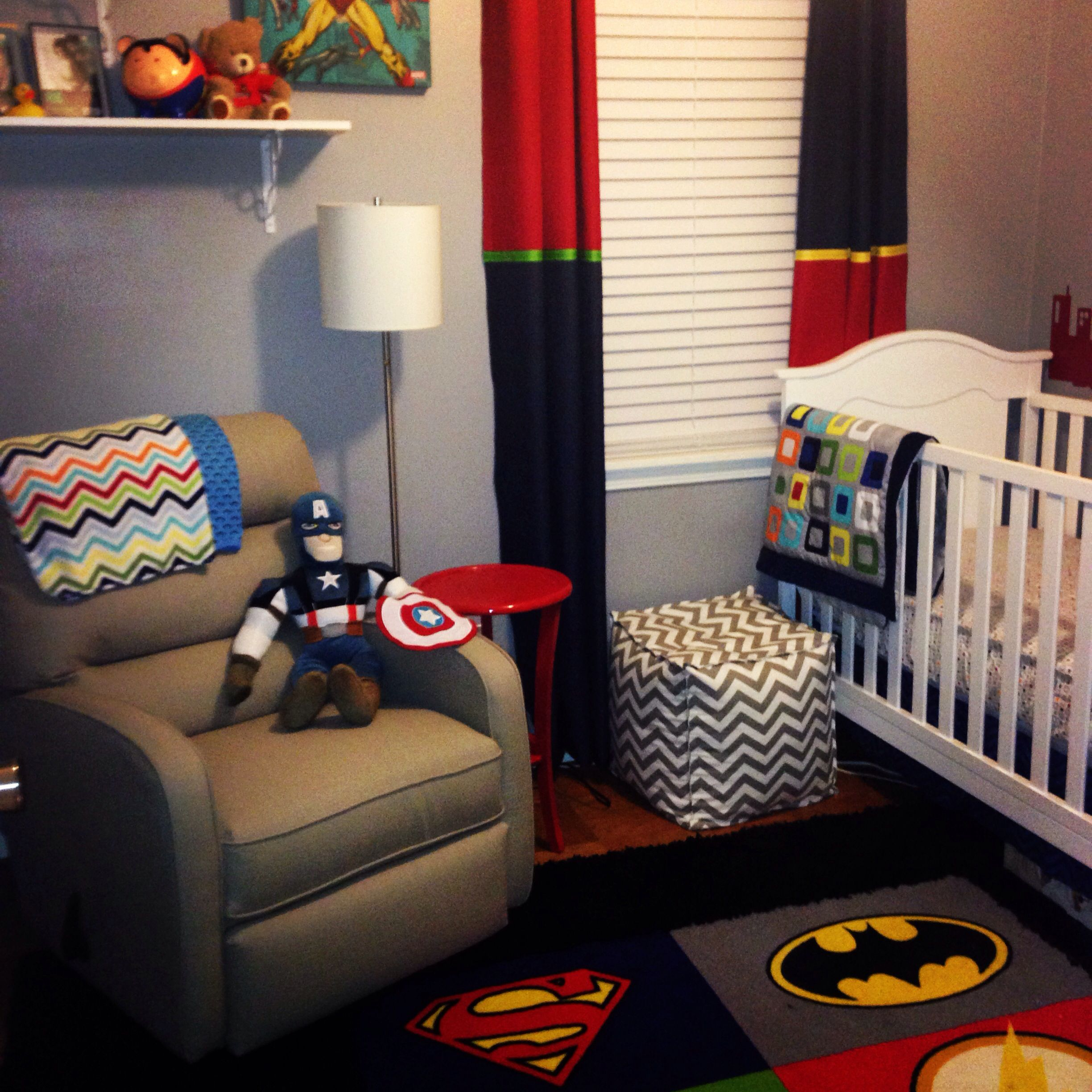 Baby Nursery Decorating Checklist: Superhero Nursery For Baby Boy Your Husband Will Be