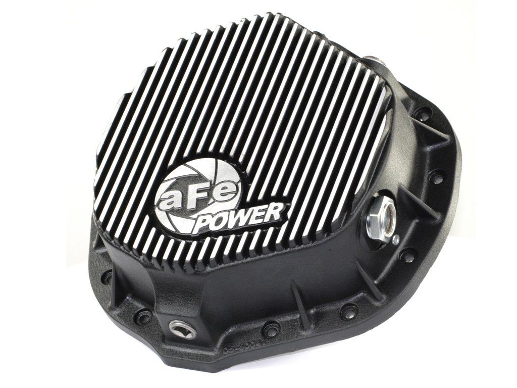 Afe Power Rear Differential Cover Machined Fins Pro Series 46 70012 Diesel Trucks Dodge Diesel Trucks Dodge Diesel