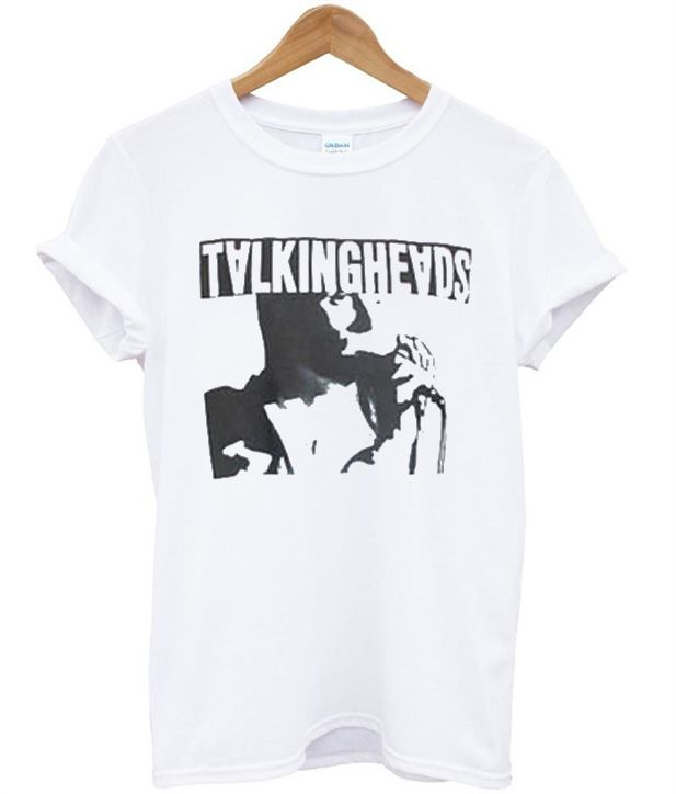 talking heads t-shirt new wave punk 80s 1980s retro hipster indie rock vtg vintage vXBU9i66Z