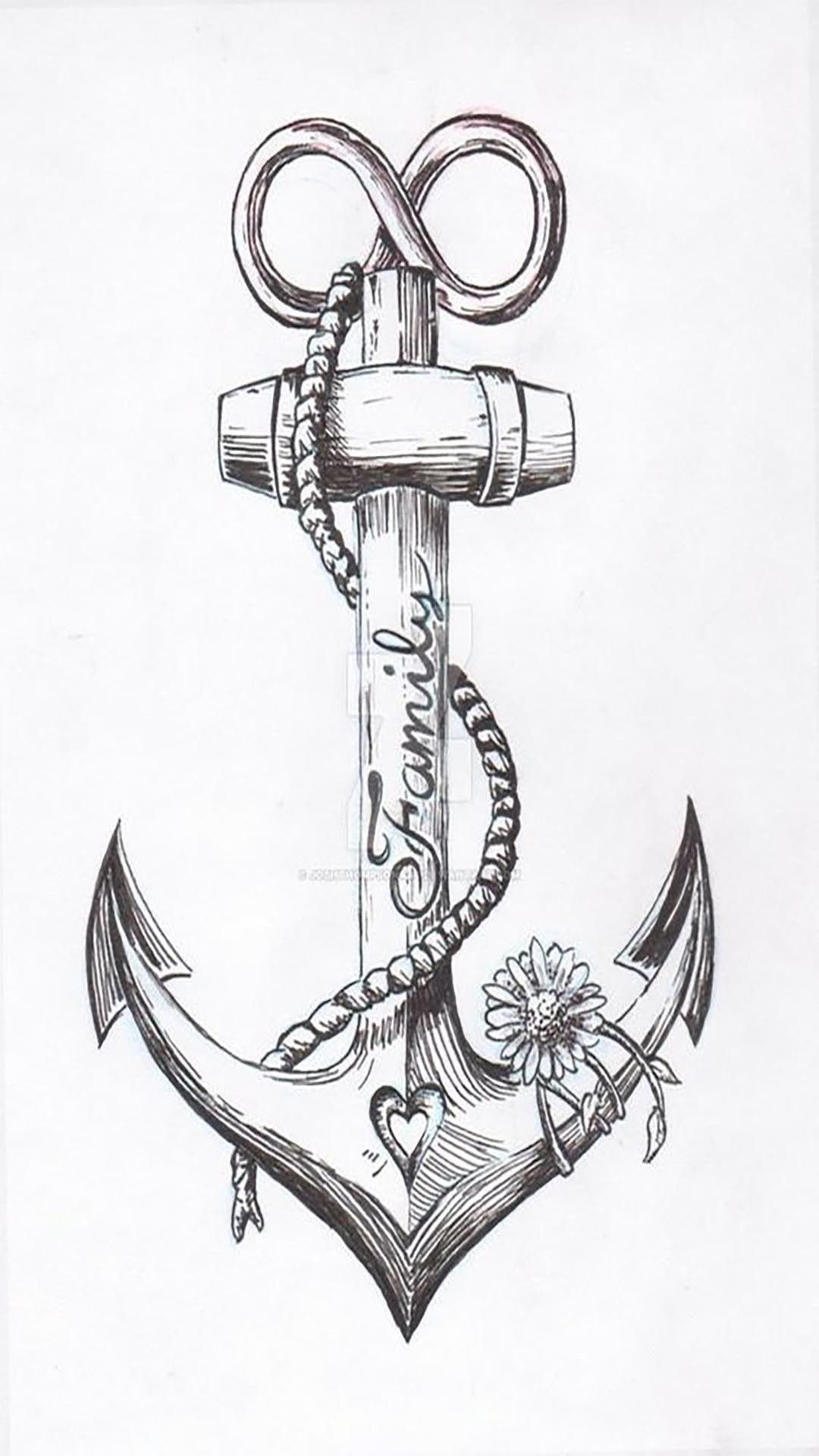 Anchor Tattoos Image By Nicole Gibson Stubbs On Wallpapers