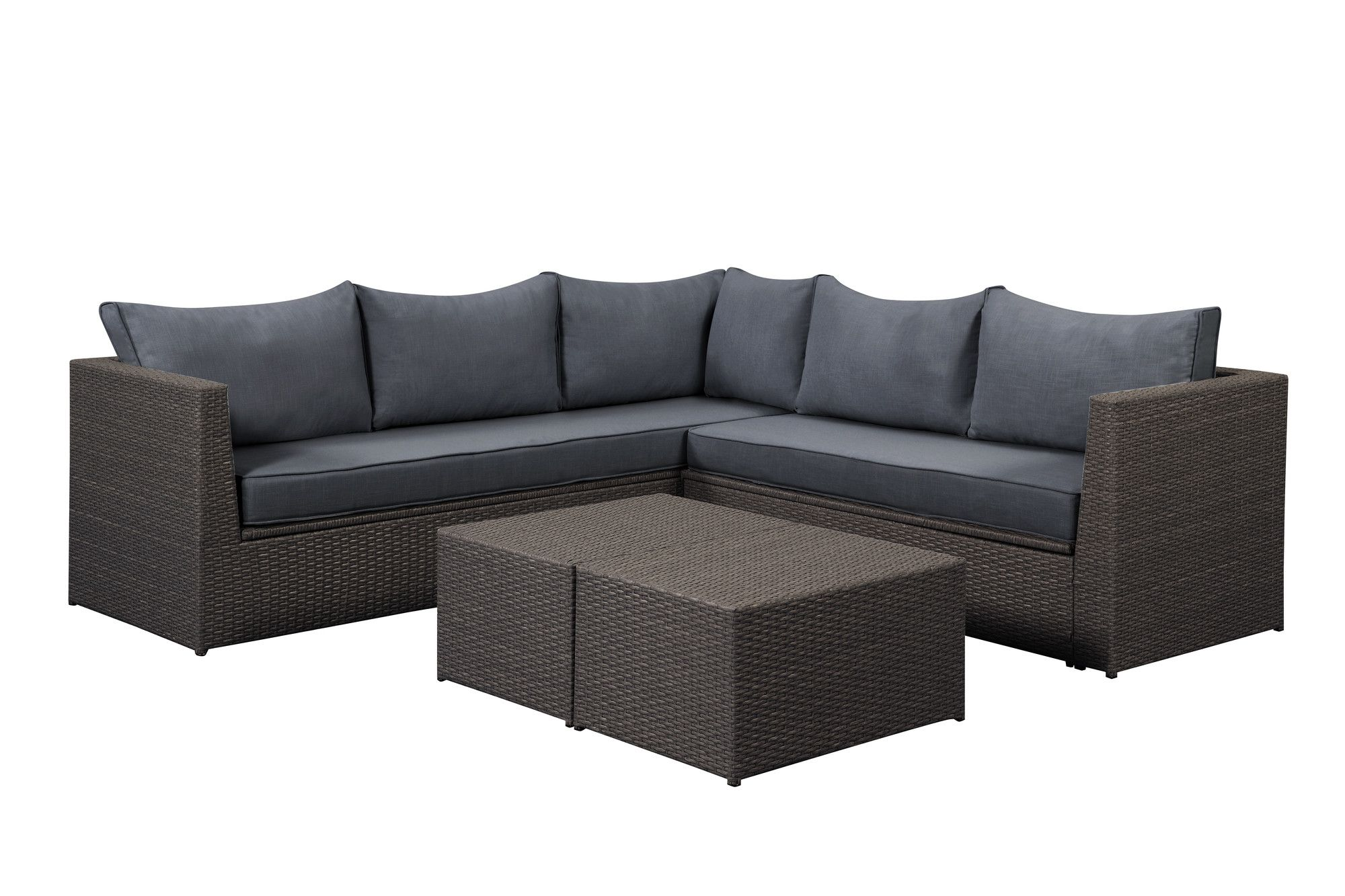 Morro Bay Sectional W Storage Brown Grey Products Outdoor Sofa Sets Outdoor Sofa Sofa Set
