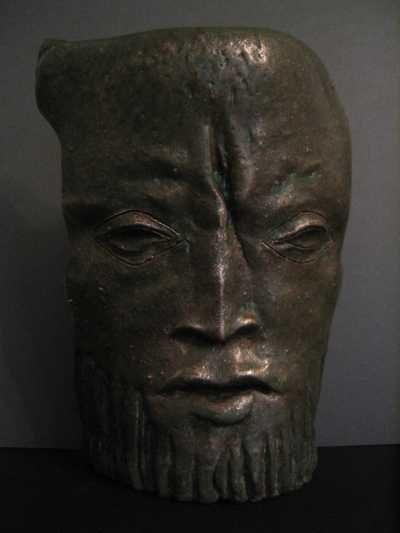 #bronze Portrait Sculptures / Commission or Bespoke or Customised #artwork by #sculptor Vahan Bego titled: 'The Aegean Sea (bronze Male Face Wall Hung sculptures)'. #art #artist #sculpture #VahanBego