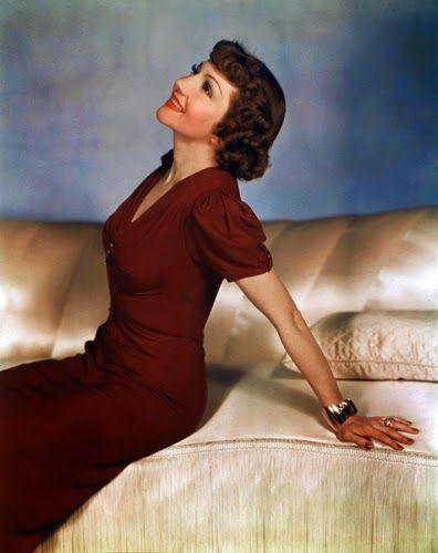 Vintage Glamour Girls: Claudette Colbert