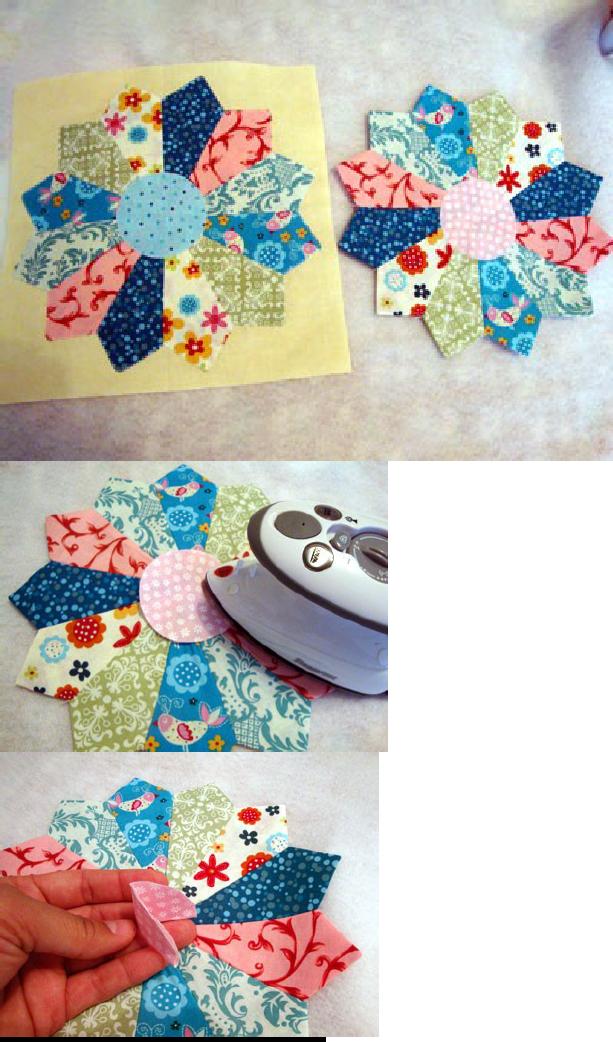 Dresden Plate Block Tutorial | Sewing | Pinterest | Patchwork und Nähen