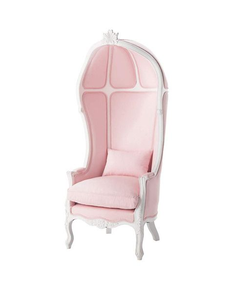 Love this chair - especially in pink!