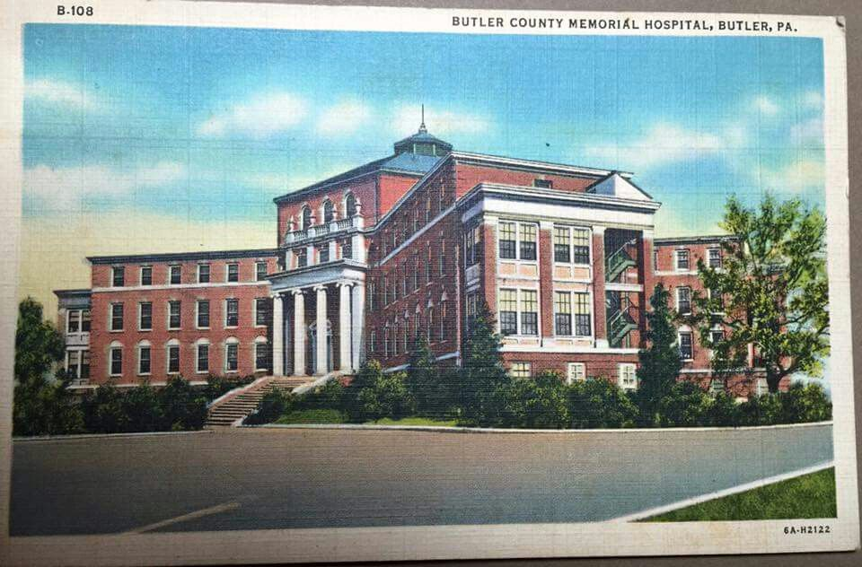 The Old Butler Memorial Hospital Prior To Two Subsequent Remodels