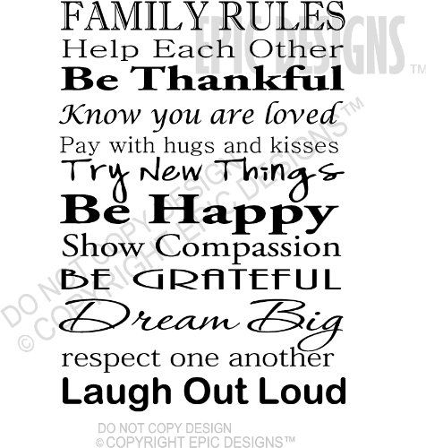 family relationship quotes big respect one another laugh out