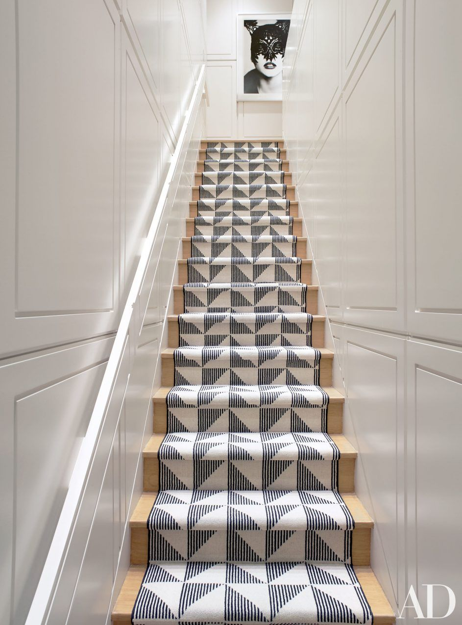 Design Ideas Chic Modern Stair Runner 59 Contemporary Carpet Tour A Gramercy Park Photo