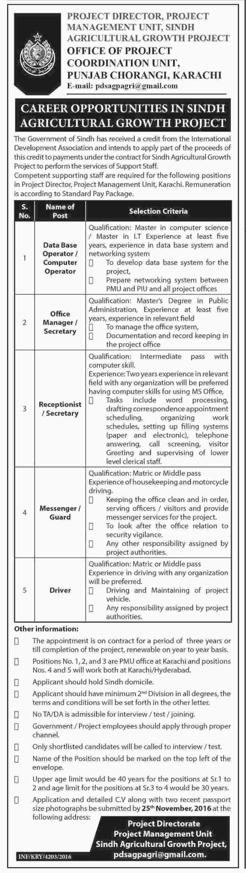 Project Management Unit Muzaffarabad Jobs  Jobs In Pakistan