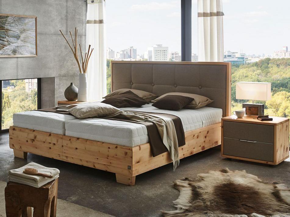 ADA Zirben-Boxspringbett Pure Pine - Schlafoase Tirol Schlafzimmer - schlafzimmer holz massiv