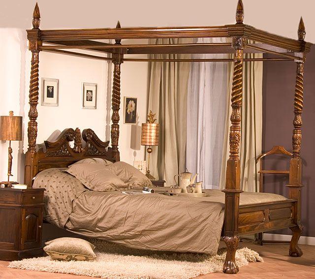 Dormitorio Reina Ana | antigüedades | Pinterest | Reinas, Dormitorio ...