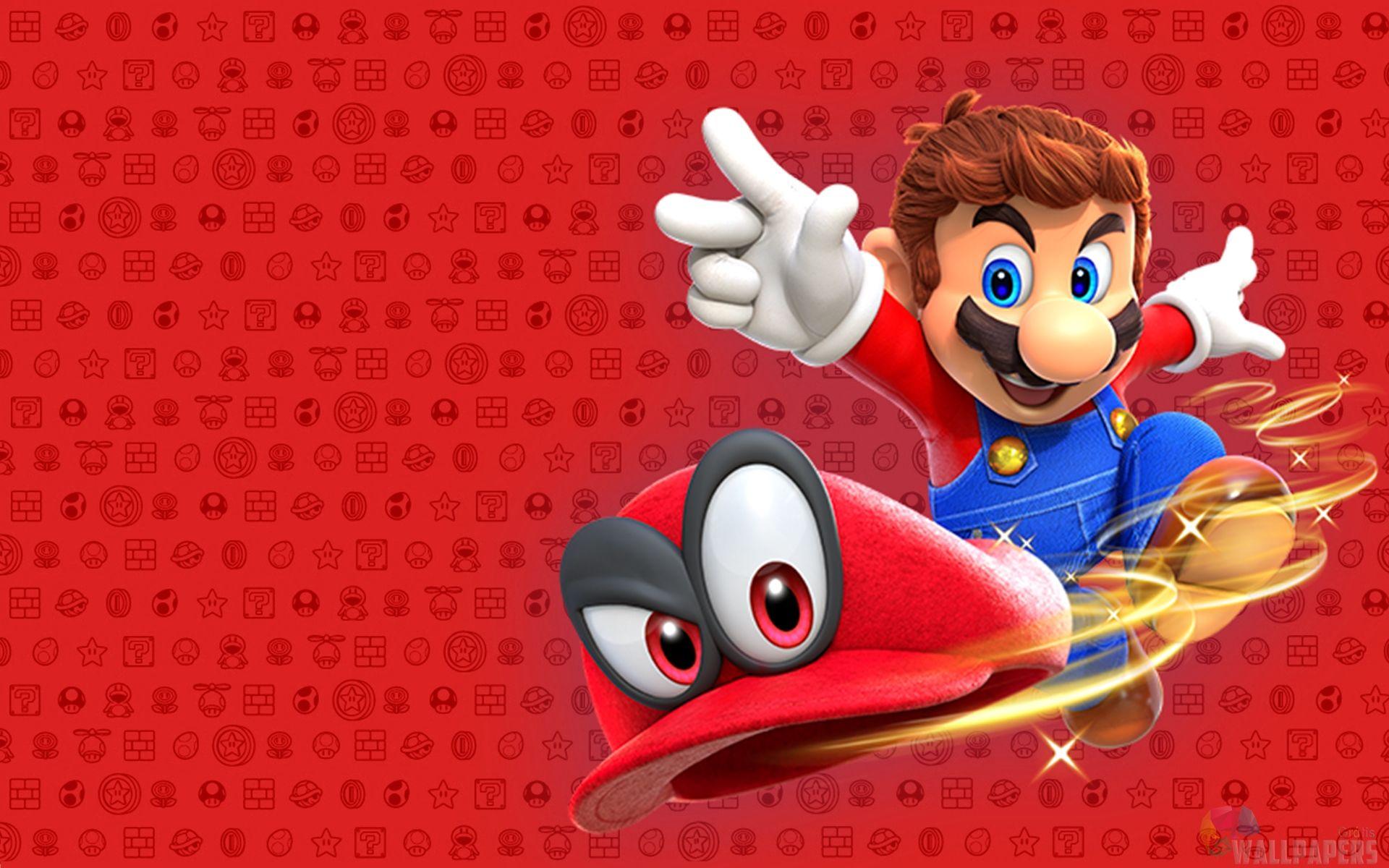 Papel De Parede Para Pc Jogos Super Mario Super Mario Papeis De Parede Mario