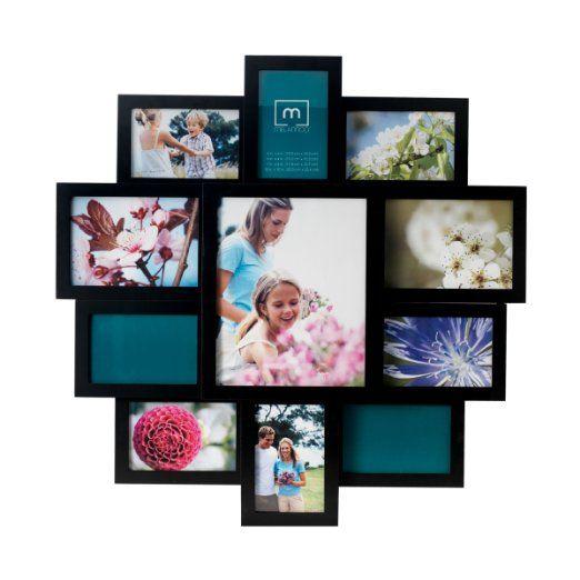 Amazon Com Melannco 11 Opening Collage Frame Black Collage Frames Collage Picture Frames Frame
