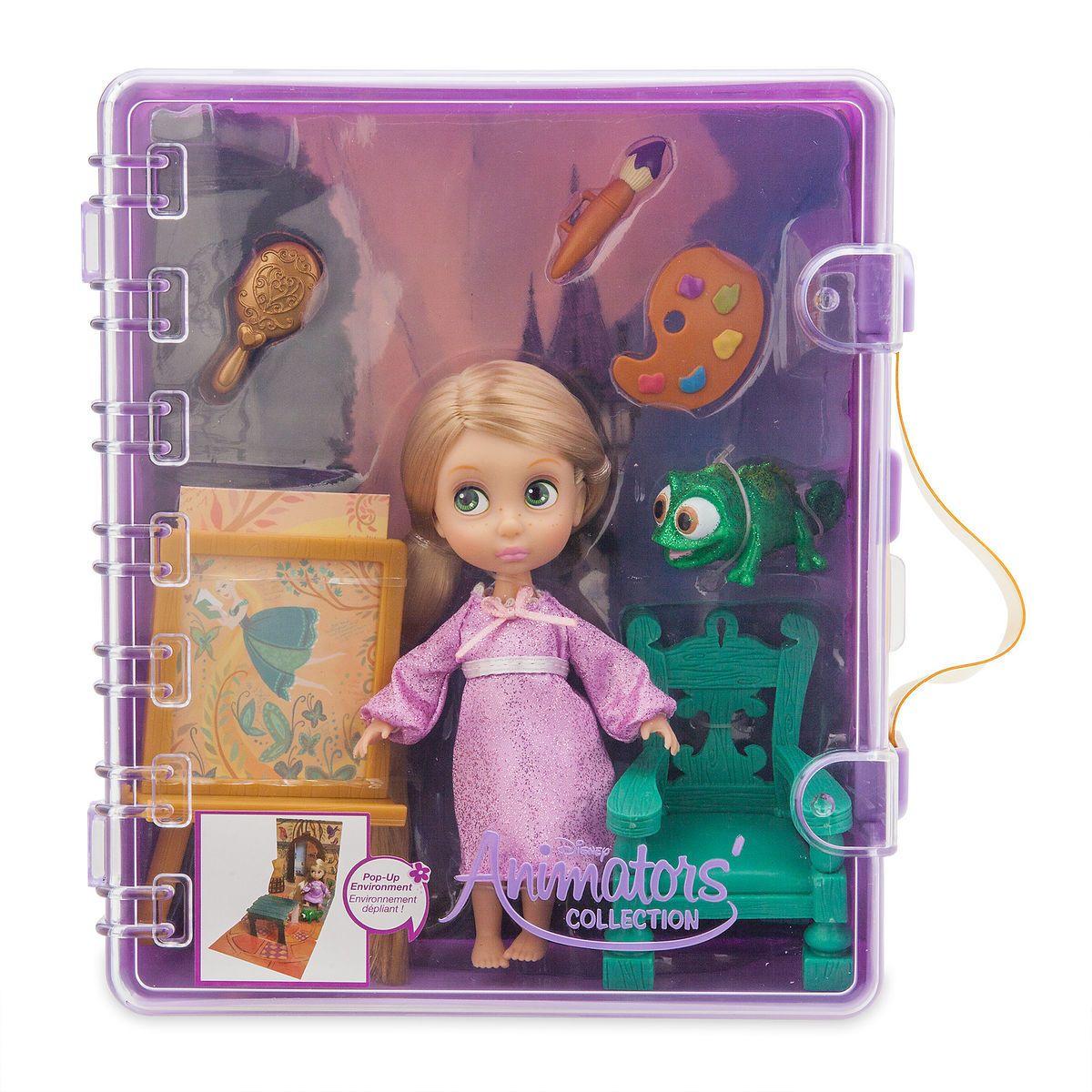 Disney Princess Animators/' Collection Rapunzel Exclusive Mini Doll Play Set