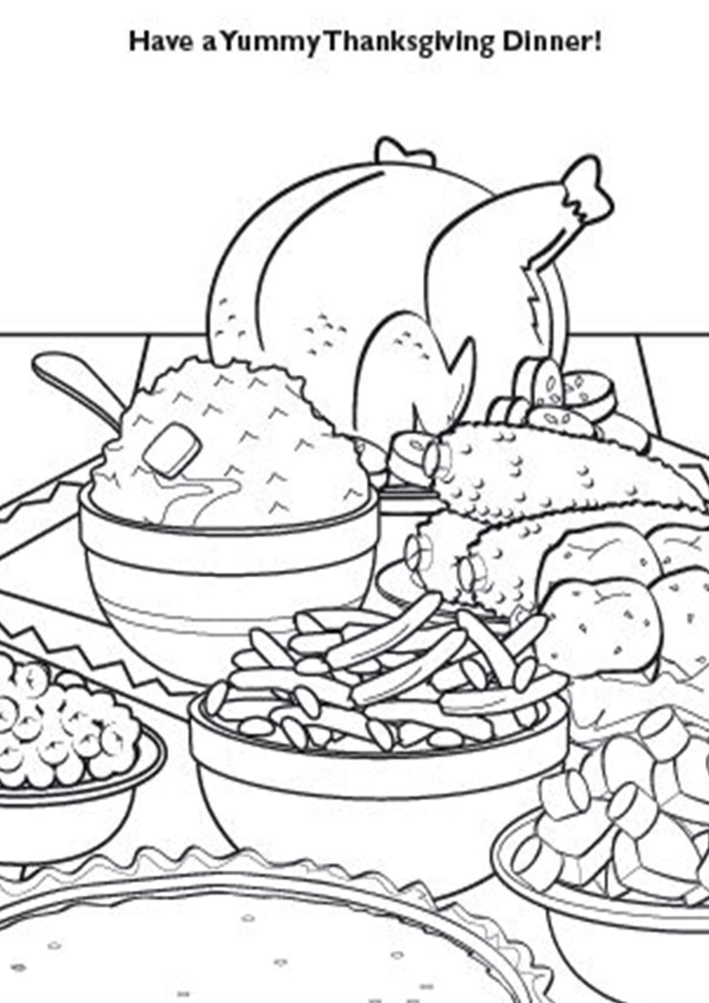 Free Printable Thanksgiving Coloring Pages Thanksgiving Coloring Pages Coloring Pages Valentines Day Coloring Page [ 2048 x 1448 Pixel ]