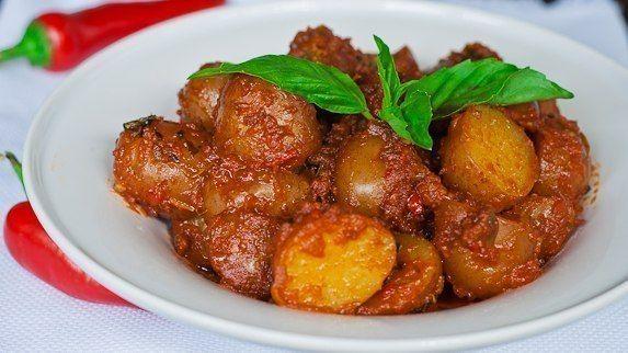 """""""Картошка в остром красном соусе"""" (с изображениями ..."""