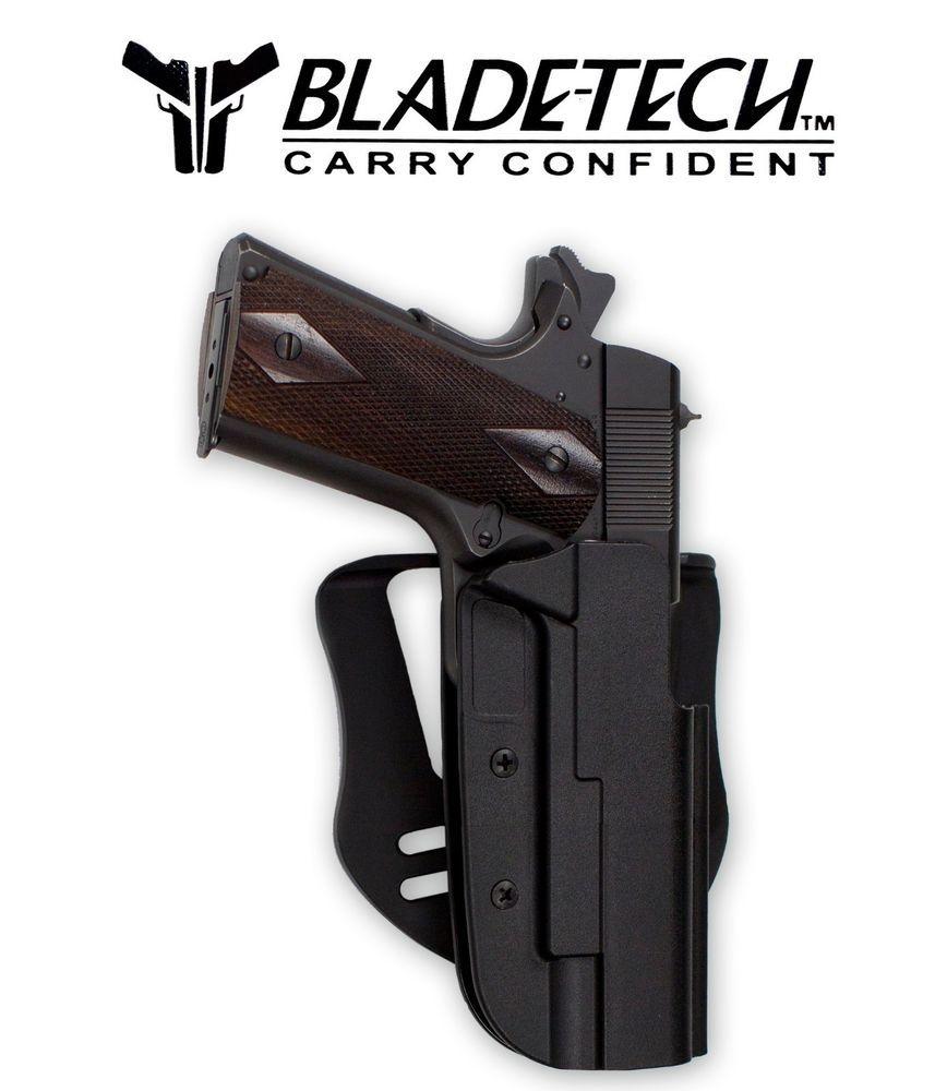 Blade tech revolution holster 1911 5 barrel black right