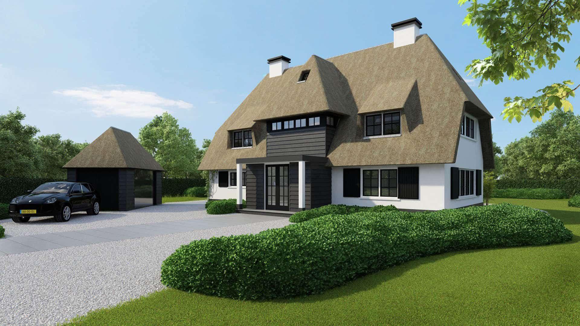 Nieuwbouwwoning ontworpen door de architecten en stylisten van kabaz