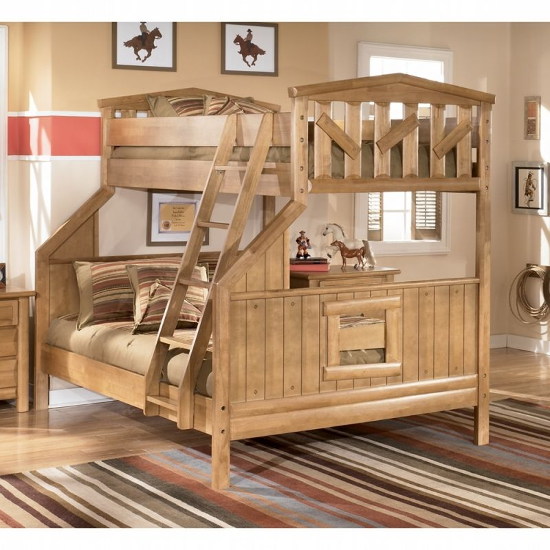 Best Cabin Creek Bunk Bed B373 B Bed Ashley Furniture Rooms 400 x 300
