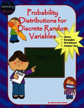 Statistics Worksheet Probability Distributions For Discrete