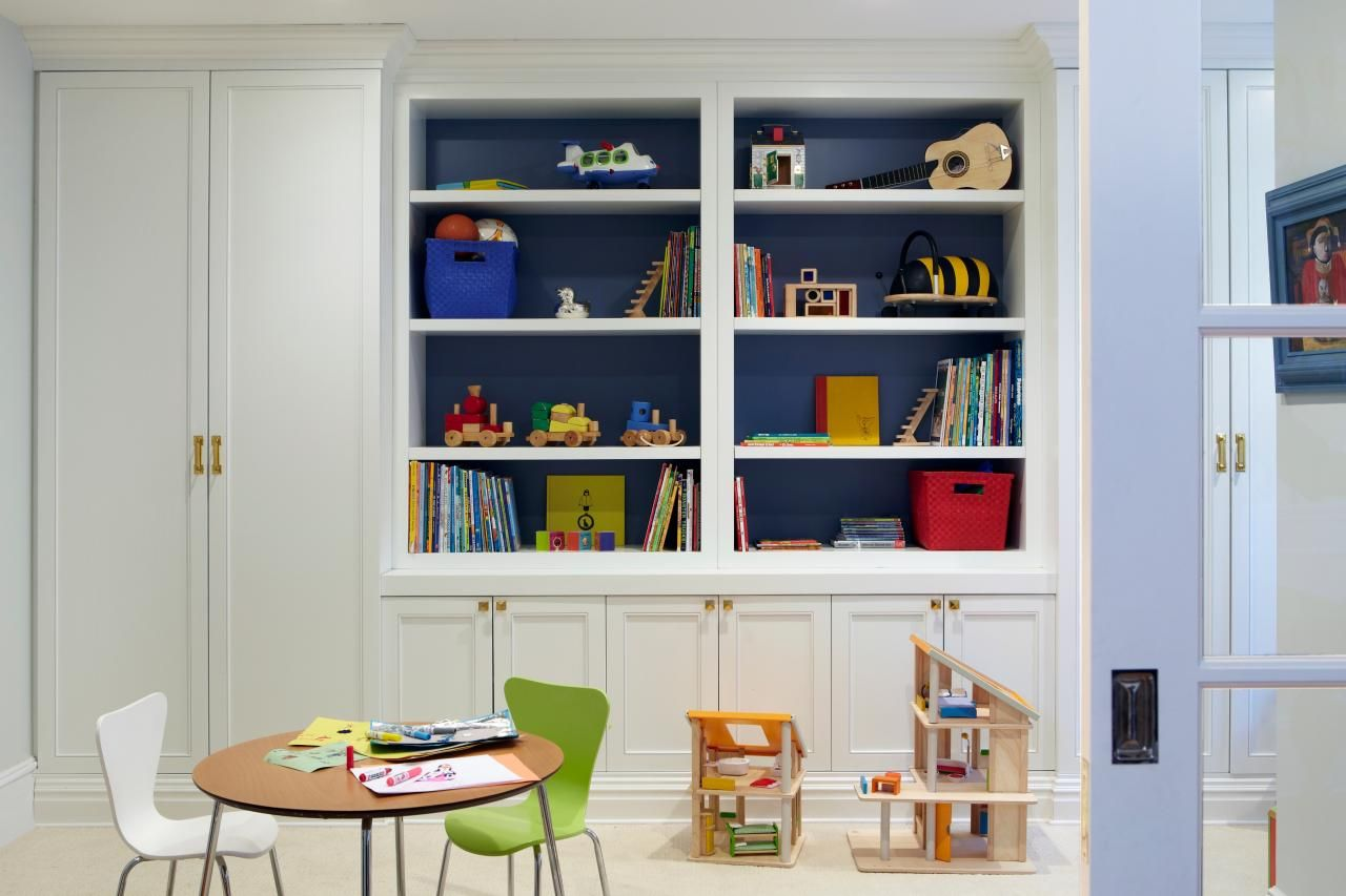 pre-war apartment becomes fun, sophisticated space | playroom