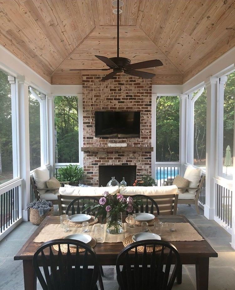 Outdoor Living Spaces That Inspire Us At Copper Creek Homes In