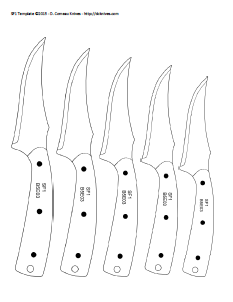 pin by james cook on knife patterns pinterest knife template