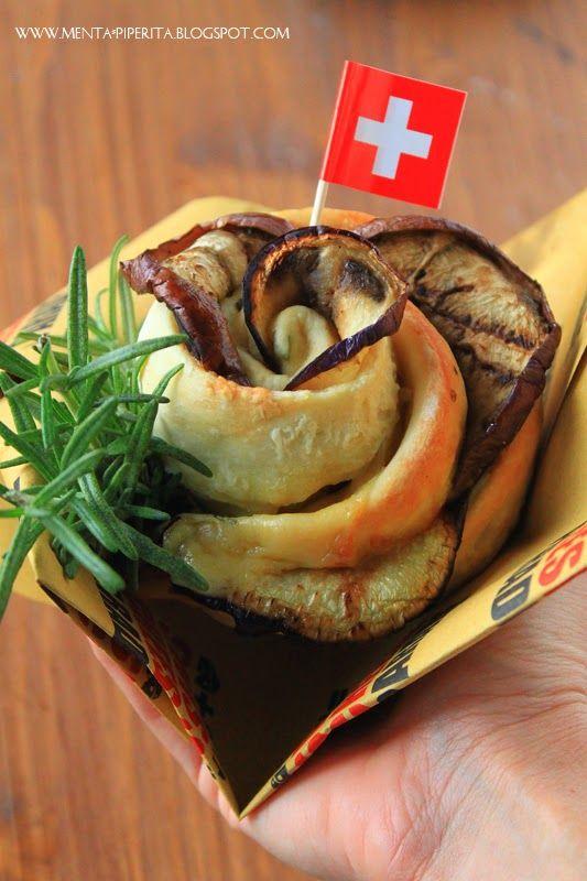 Menta Piperita and Co.: Last but not least: Rose al rosmarino con melanzane e Sbrinz per la Swiss Cheese Parade