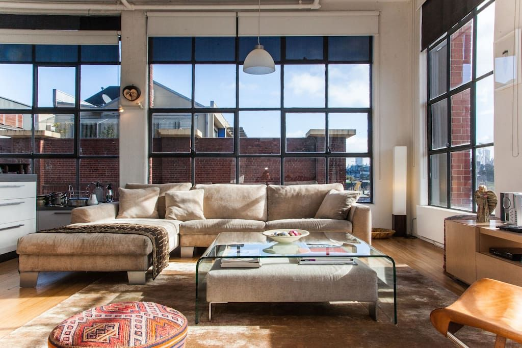 New York Style Loft In Melbourne Lofts For Rent Richmond Apartments